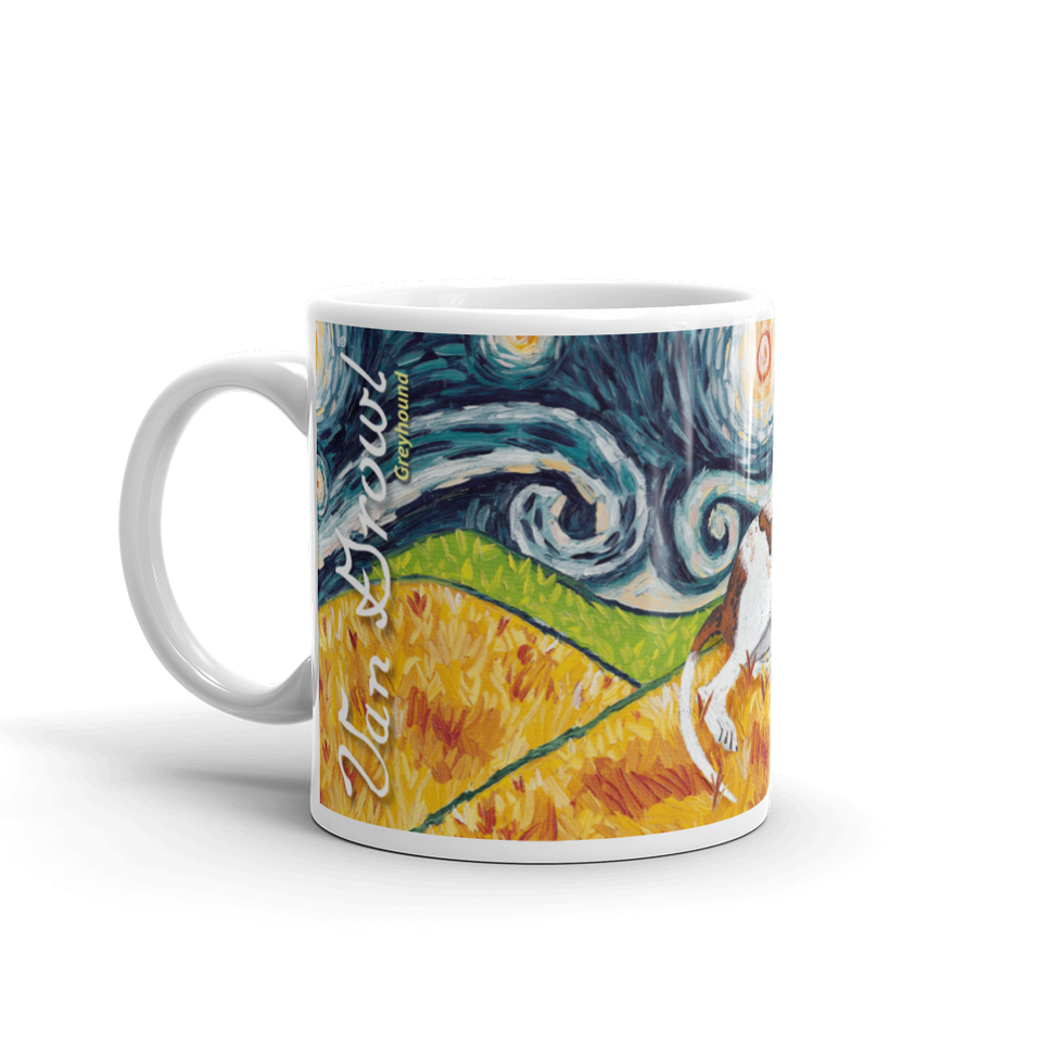Greyhound STARRY NIGHT Mug-15oz