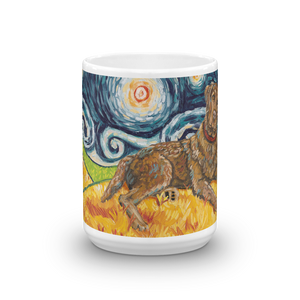 Chesapeake Bay Retriever STARRY NIGHT Mug-15oz