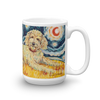 Doodle (golden) STARRY NIGHT Mug-15oz