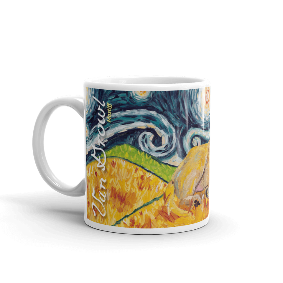 Mastiff STARRY NIGHT Mug-15oz