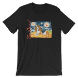 Basset Hound STARRY NIGHT T-Shirt