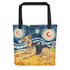 Airedale Terrier STARRY NIGHT Tote