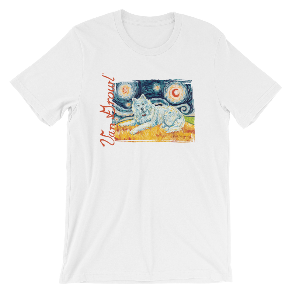 Samoyed STARRY NIGHT T-Shirt