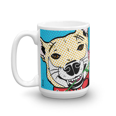 """I WOOF YOU MOM!"" MUG"