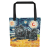 Chow (black) STARRY NIGHT Tote