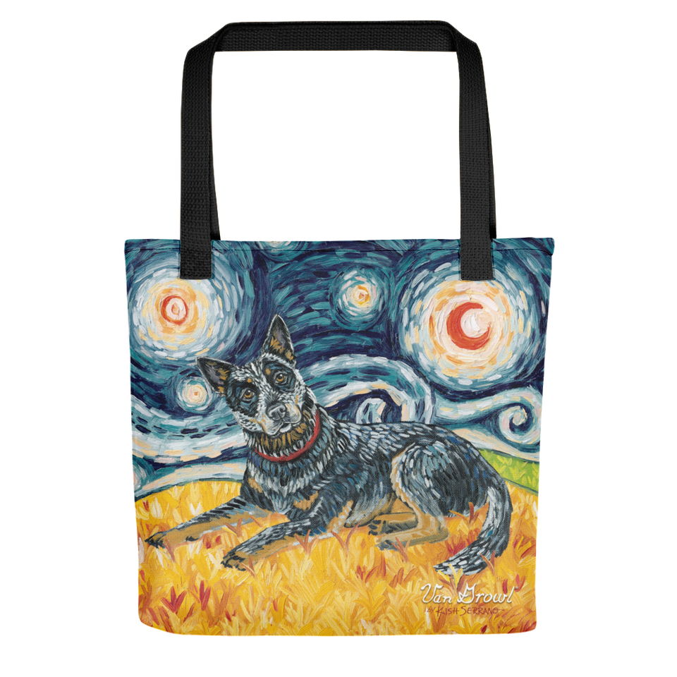 Australian Cattle Dog STARRY NIGHT Tote