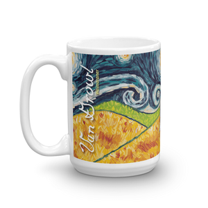 Weimaraner STARRY NIGHT Mug-15oz