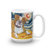 Bulldog STARRY NIGHT Mug-15oz
