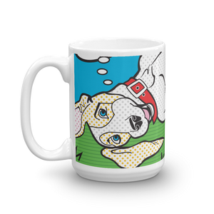 """THINK PAWSITIVE"" 15OZ MUG"