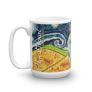 American Eskimo STARRY NIGHT Mug-15oz