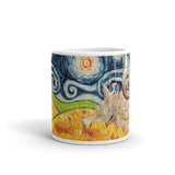 Cairn Terrier (light) STARRY NIGHT Mug-15oz