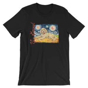 Doodle (golden) STARRY NIGHT T-Shirt