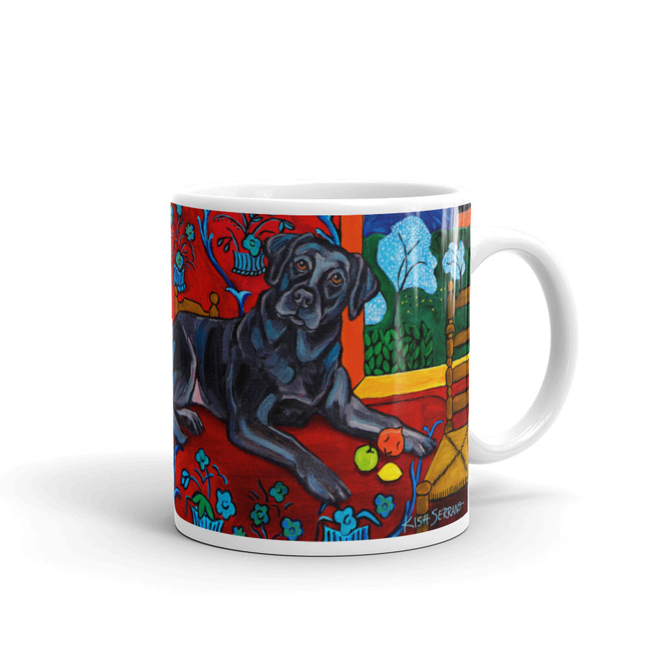 MUTTISSE — LABRADOR (black) MUG