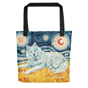 Samoyed STARRY NIGHT Tote