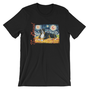 Bernese Mountain Dog STARRY NIGHT T-Shirt