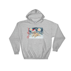 Cairn (Light) Snowy Night Hoodie