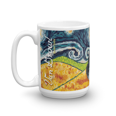 Border Collie STARRY NIGHT Mug-15oz