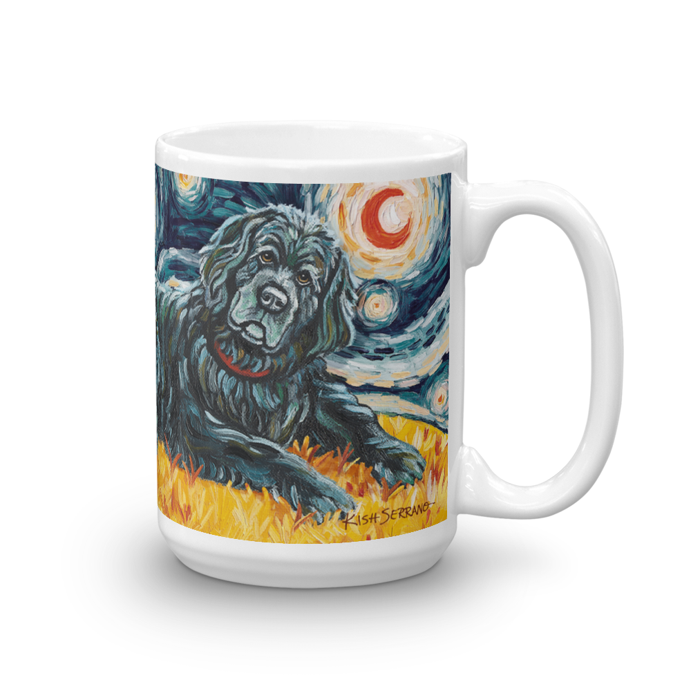 Newfoundland STARRY NIGHT Mug-15oz