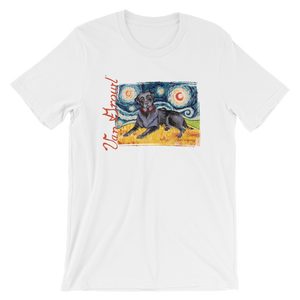 Copy of Labrador Retriever (yellow) STARRY NIGHT T-Shirt