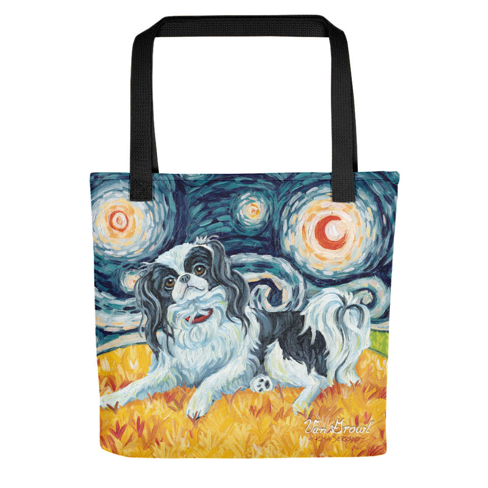 Japanese Chin STARRY NIGHT Tote