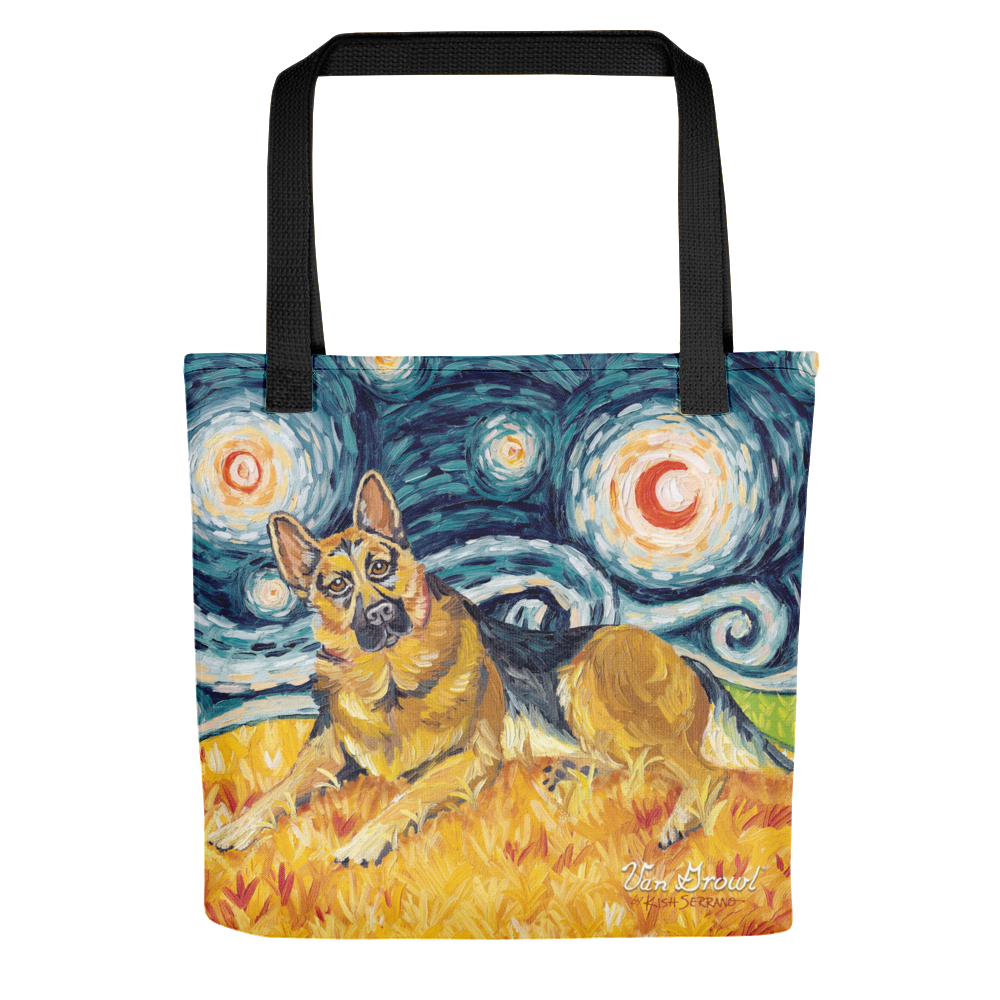 German Shepherd STARRY NIGHT Tote