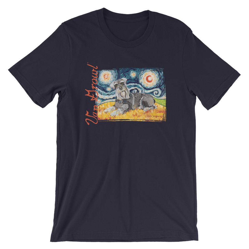 Schnauzer STARRY NIGHT T-Shirt