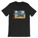 Poodle (Standard-black) STARRY NIGHT T-Shirt
