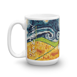 Jack Russell Terrier STARRY NIGHT Mug-15oz