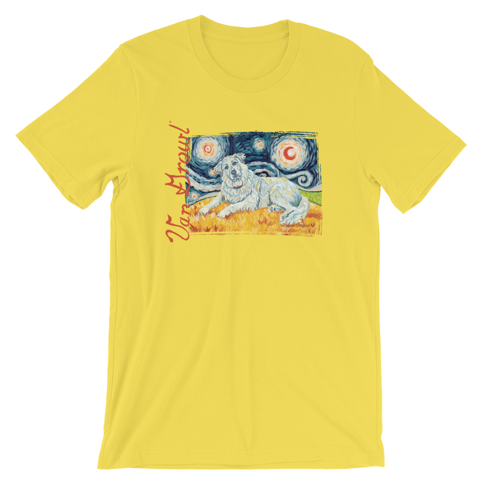 Great Pyrenees STARRY NIGHT T-Shirt