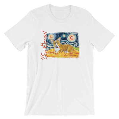 Corgi (Pembroke Welsh) STARRY NIGHT T-Shirt