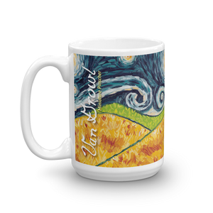 Miniature Pinscher STARRY NIGHT Mug-15oz