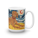 Vizsla STARRY NIGHT Mug-15oz