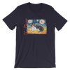 Tuxedo (shorthaired) STARRY NIGHT T-Shirt