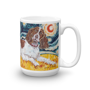 English Springer Spaniel STARRY NIGHT Mug-15oz