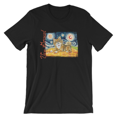 Chihuahua (long haired) STARRY NIGHT T-Shirt