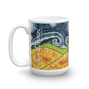 Akita STARRY NIGHT Mug-15oz