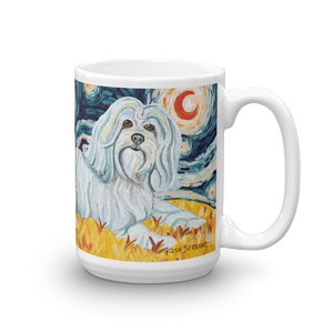 Havanese STARRY NIGHT Mug-15oz