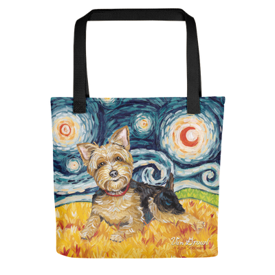 Yorkie STARRY NIGHT Tote