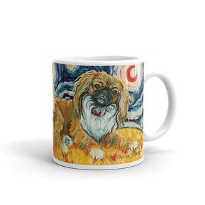 Pekingese STARRY NIGHT Mug-15oz