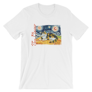 Calico Cat (longhaired) STARRY NIGHT T-Shirt