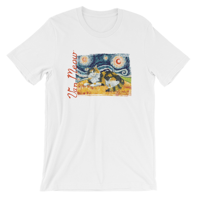 Calico (longhaired) STARRY NIGHT T-Shirt