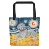 Weimaraner STARRY NIGHT Tote