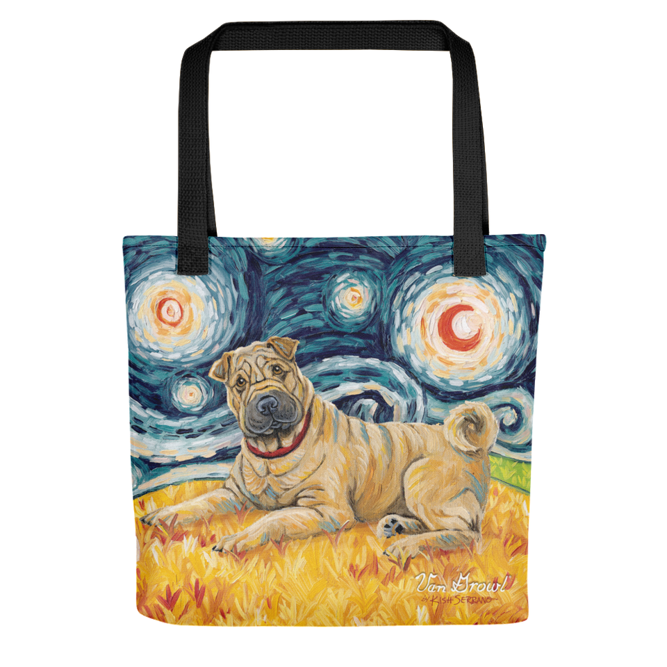Shar Pei STARRY NIGHT Tote