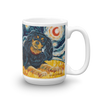 Cavalier King Charles (black & tan) STARRY NIGHT Mug-15oz