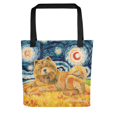Chow (light) STARRY NIGHT Tote