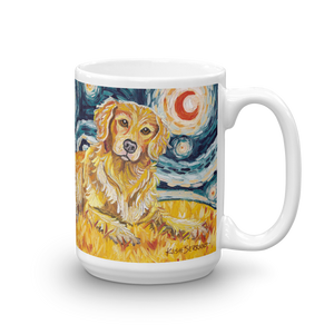 Golden Retriever STARRY NIGHT Mug-15oz