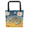 Tabby (shorthaired) STARRY NIGHT Tote
