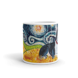 Boston Terrier STARRY NIGHT Mug-15oz