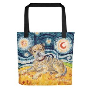 Border Terrier STARRY NIGHT Tote