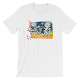 Keeshond STARRY NIGHT T-Shirt